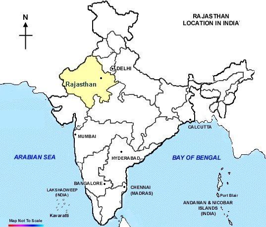 Cartina Rajasthan India.Rajasthan Mahila Ayog Jaipur Address